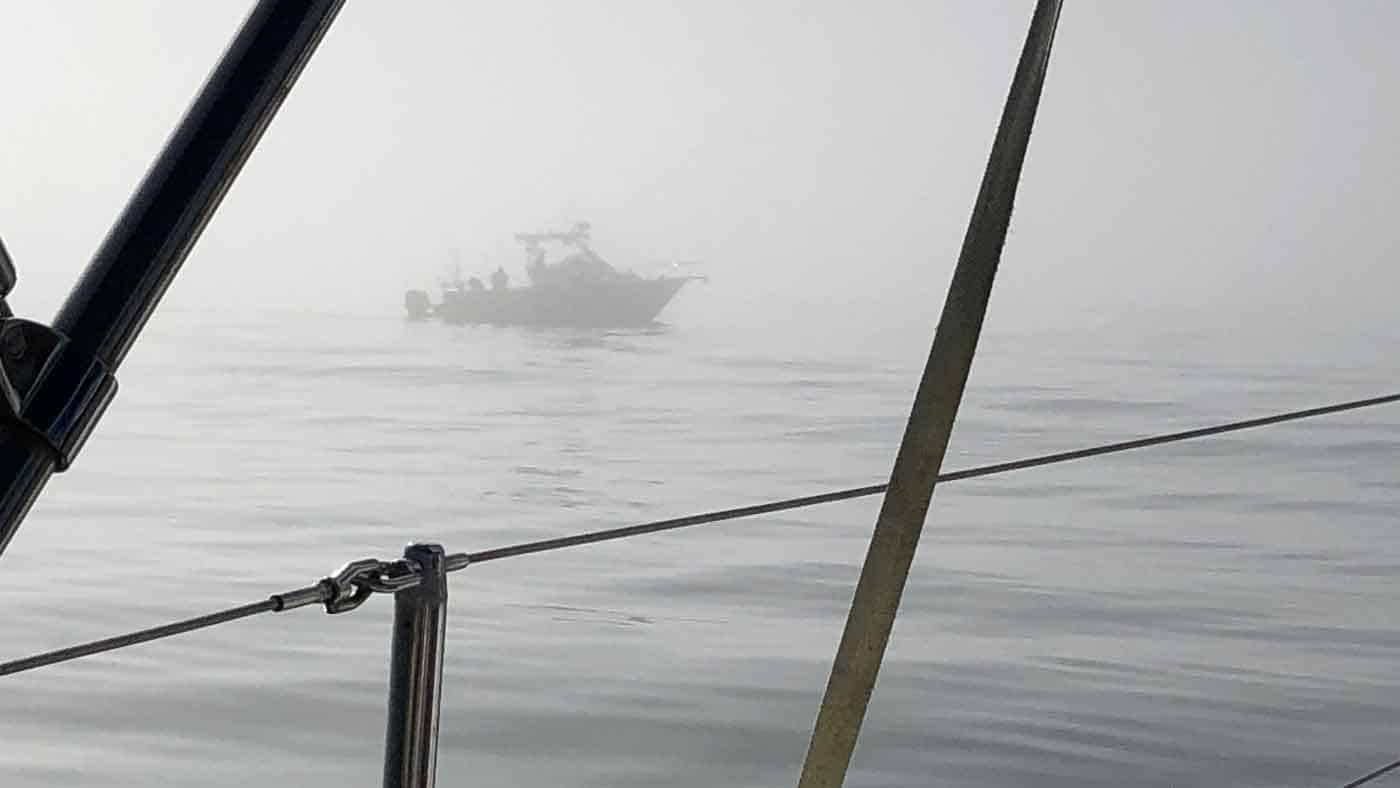 Fog Off Clearwater Pass-How Not To Sail