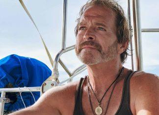 Peter Suarez aboard Jacie Sails