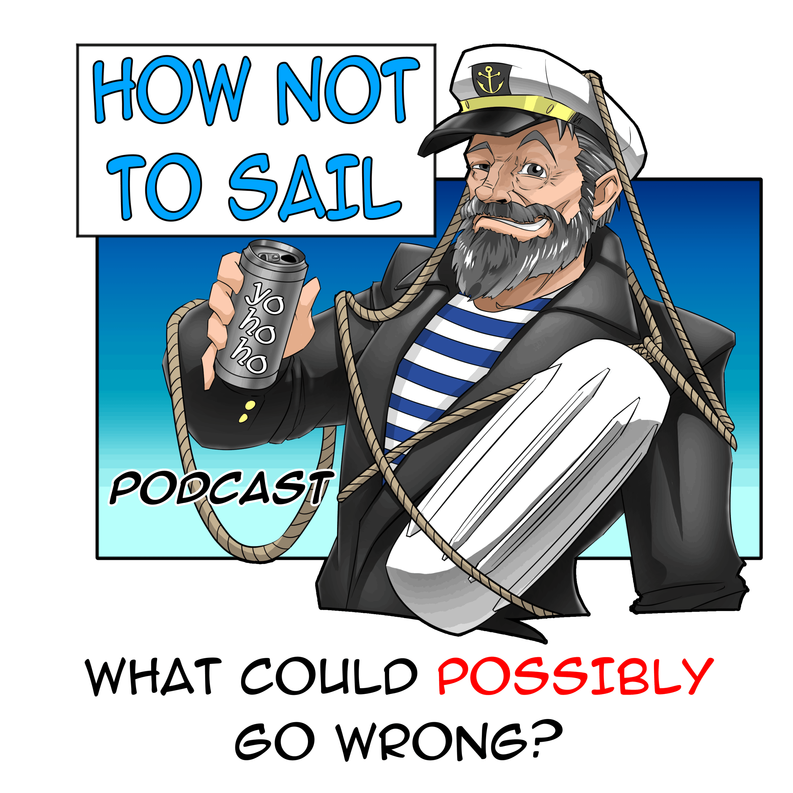 How Not To Sail artwork from Dave King