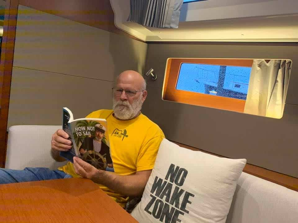 Wayne Stinnett reading How Not To Sail