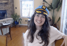 Photo of Captain Boomies from the YouTube interview